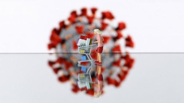 Hamsterkäufe: Desinfektionsmittel fast vier mal häufiger verkauft als Klopapier
