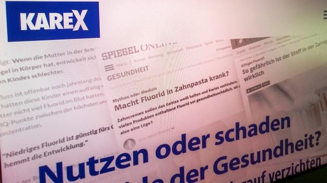 Zahnärzte-Gesellschaften kritisieren die Werbung von Dr. Wolff für die Zahnpasta Karex. (Abbild: karex.com)
