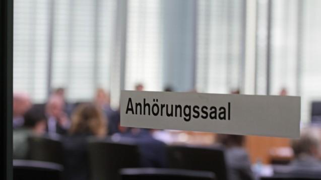 Am Mittwoch findet im BT-Gesundheitsausschuss die Anhörung zum GKV-VSG statt. (Foto: Sket)