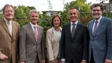 Der Vorstand der Arbeitsgemeinschaft der Pharmazieräte Deutschlands (APD, v. l.): Dr. Wolfgang Kircher, Christian Züllich, Dr. Ute Stapel, Christian Bauer, Dr. Walter Taeschner. (Foto: APD)