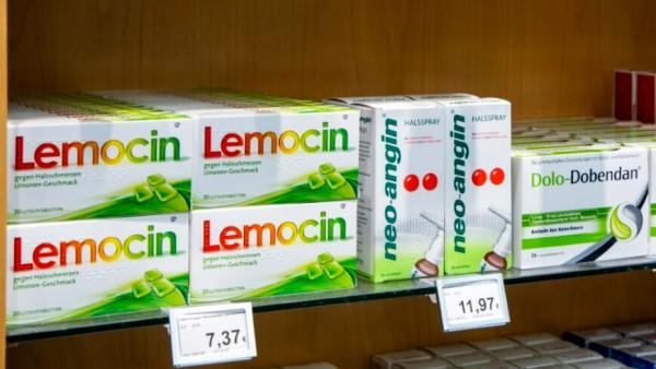 Werden Lemocin und Dorithricin gegen Halsschmerzen verschreibungspflichtig?