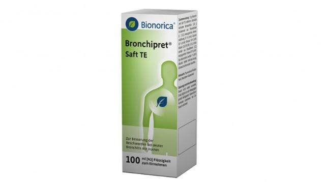 Einige Chargen Bronchipret-Saft schmecken nicht richtig. (Bild: Bionorica)