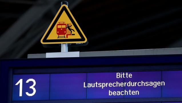 Bei der Bahn führte WannaCry zu Ausfällen von Anzeigen. (Foto: dpa)