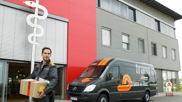 Der Pharma-Logistiker trans-o-flex beliefert unter anderem für den Pharma-Großhändler AEP Apotheken. (Foto: trans-o-flex)