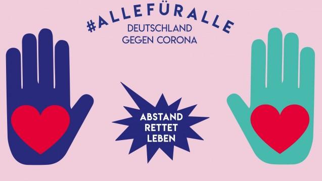 Der niederländische Arzneimittelversender DocMorris beteiligt sich an einer Aufklärungskampagne zum Coronavirus. Auf Facebook wird das derzeit kontrovers diskutiert. ( t / Foto: Deutschland gegen Corona)