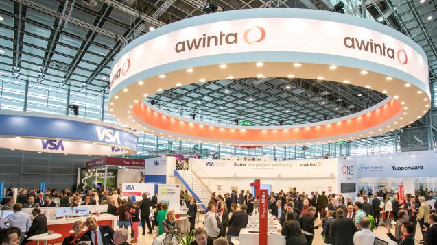 Auf der Expopharm in München wird die Noventi (hier der Stand 2017 in Düsseldorf) ihre Digitalstrategie präsentieren. (r / Foto: Schelbert)