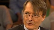 Lauterbach zu Gast bei Moderator Lanz. (Screen: ZDF-Mediathek)