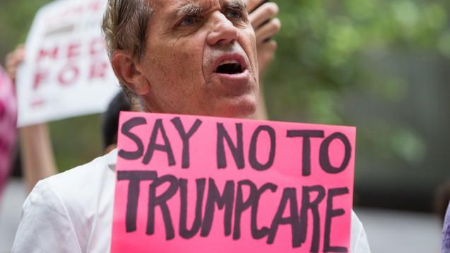 Die US-Rebublikaner können sich nicht auf eine Gesundheitsreform einigen. (Foto:picture alliance / newscom)