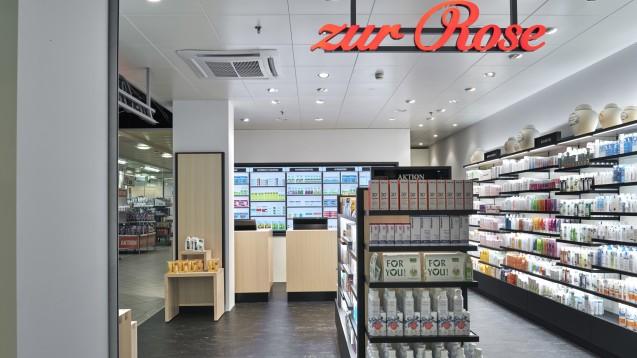 Das Shop-in-Shop Konzept der DocMorris-Mutter Zur Rose wird nun auch in der Westschweiz etabliert. (Foto: Zur Rose)