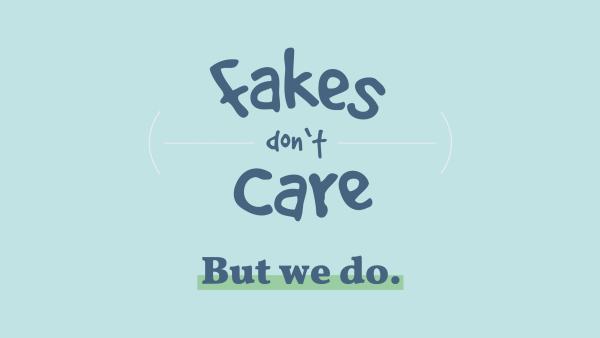 Fakes don't care – pharmacists do