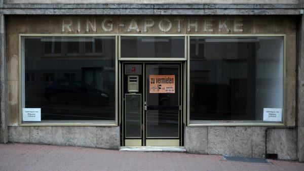 Apothekenzahl sinkt auf 30-Jahres-Tief