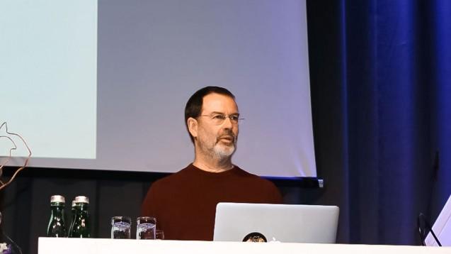 Professor Hans Förstl sprach beim Pharmacon über Schlafstörungen. (Foto: jb / DAZ.online)