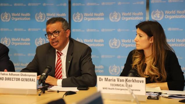 Tedros Adhanom Ghebreyesus, der Generaldirektor der WHO (World Health Organisation) hält die Welt in Sachen Coronavirus auf dem neuesten Stand. (t/Foto: imago images / Xinhua)