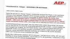 Skonti-Debatte geht weiter: AEP wendet sich in einem Schreiben an Apotheker. (Quelle: AEP)