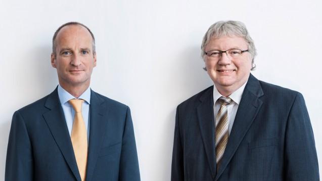 Ja, ich will: Sowohl ABDA-Präsident Friedemann Schmidt (links) als auch sein Vize Matthias Arnold wollen erneut für die ABDA-Spitze kandidieren. (Foto: ABDA)