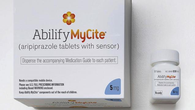 In den USA ist das Antipsychotikum Abilify MyCite, die erste digitale Pille, jetzt für Patienten erhältlich. (Foto: dpa)