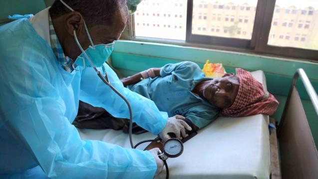 In Afrika und auf der arabischen Halbinsel breitet sich derzeit die Cholera aus - auch wegen kriegerischen Konflikten und der massiven Dürre. (Foto: dpa)