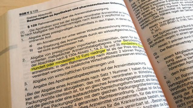 Der Paragraf 129 im SGB V bewegt weiterhin die politischen Gemüter. Nun könnte aber eine Lösung gefunden worden sein. (Foto: imago images / IPON)