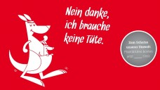 "Apotheker packen's ohne Plastik: ""Känguru""-Aktion des baden-württembergischen Apothekerverbands. (Grafik: Verband)"