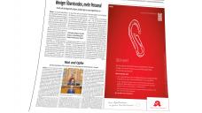 Großflächige Anzeige: Auf einer Viertelseite der Süddeutschen Zeitung vom Mittwoch startete die ABDA ihre Kampagne gegen die Folgen des EuGH-Urteils. (Screenshot: DAZ.online)
