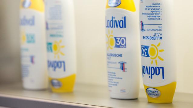 Stada hat die Markenrechte für Ladival zurückgekauft. (s / Foto: DAZ / Schelbert)
