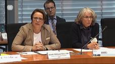 Annette Widmann-Mauz: Nur Rechtsaufsicht über G-BA. (Screen: Bundestag.de)