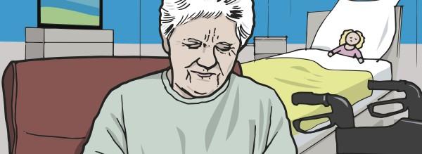 Eine Patientin mit COPD