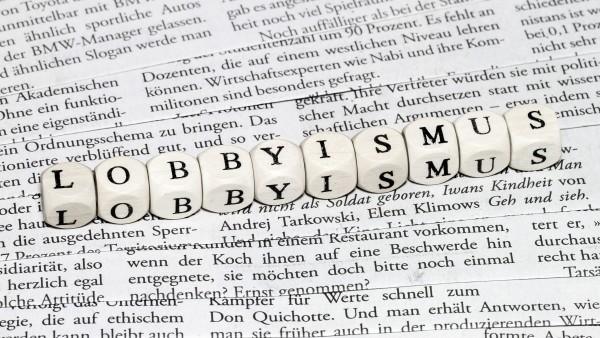 Keine Regeln fürLobbyisten in Deutschland