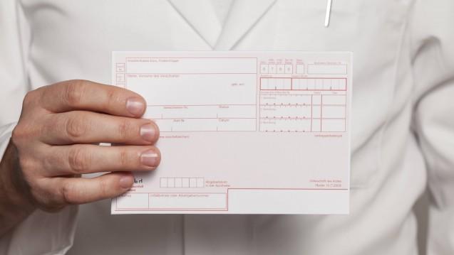 Leere Zeilen: Auch Ärzte merken die Arzneimittel-Lieferengpässe zunehmend, das geht aus einer Umfrage der KV Baden-Württemberg hervor. (Foto: imago images / Steinach)