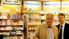 Freuen sich über die Auszeichnung: Dr. Klaus Fehske (li.) und Dr. Christian Fehske. (Foto: privat)