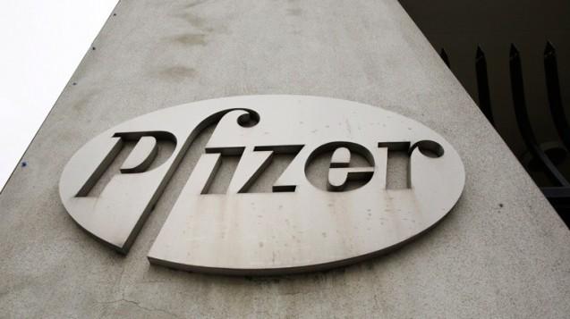 Zu hohe Einmalaufwände: Überschuss des Pfizer-Konzerns brach zwar ein, Gewinn sank nicht so stark wie prognostiziert. (Foto: dpa)