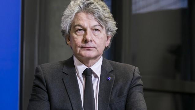 Der EU-Kommissar für den Binnenmarkt sieht keine Hinweise darauf, dass die deutsche Importförderklausel gegen EU-Recht verstoßen könnte. (Foto: imago images / IP3 Press)