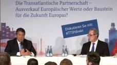 Wirtschaftsminister Gabriel setzt auf Dialog, um Vertrauen in TTIP aufzubauen. (Screen: BMWi)