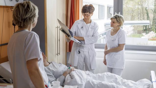 Laut einer RKI-Studie lassen sich im Schnitt nur 40 Prozent der Klinikmitarbeiter gegen die Grippe impfen. (r / Foto: imago)