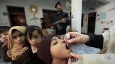 Nicht nur eine logistische Herausforderung: Impfaktion der Unicef in Pakistan. (Foto: dpa)