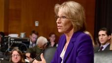 Die designierte Bildungsministerin Betsy DeVos steht in den USA in der Kritik. (Foto: dpa)