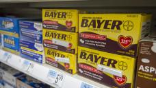 Läuft nicht: Bayers OTC-Sparte (hier Aspirin in den USA) erfüllt die Erwartungen des Konzerns nicht. (Foto: picture alliance)